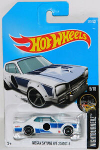 Hot Wheels 1/64 Nissan Skyline H/T 2000GT-X Diecast Car