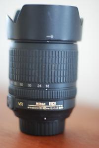Lentille Af-S Nikkor 18–105 mm  f/3.5-5.6G ED VR
