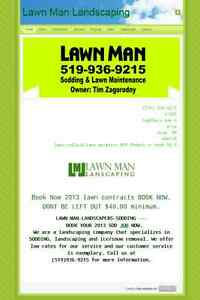 SNOW REMOVAL  QUICK 519-936-9215 LAWN-MAN London Ontario image 2