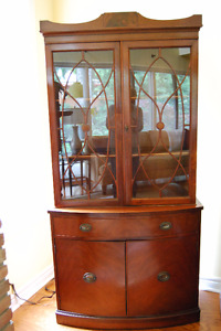 REDUCED Antique Duncan Phyfe China Cabinet