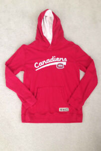 Montreal Canadiens NHL Hoodie – Youth Large