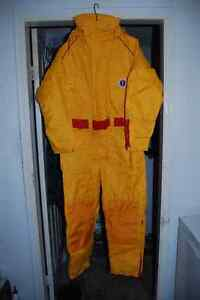 Flotation suits/anchor