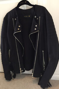 Balmain X H&M Biker Jacket Cotton