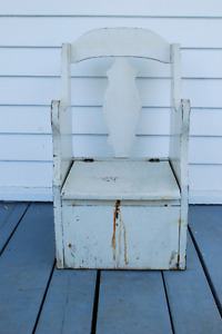 Rustic Potty Chair
