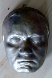 Life-size face cast of Ludwig Von Beethoven (plaster mask)