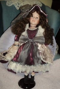 Decorative Doll in Fancy Dress  Sussex