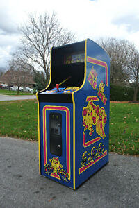 PACMAN & MRS PACMAN UPRIGHT & CT TABLES & MUCH MORE