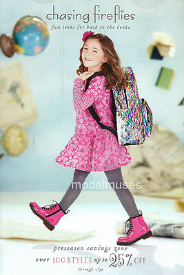 CHASING FIREFLIES Children's Apparel Catalog Back-to-School 2017 GIRLS Outfits!
