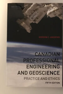 Canadian Professional Engineering and GeoscienceTextbook!