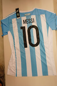 Argentina MESSI Soccer Jersey! Best Quality BRAND NEW WITH TAGS!