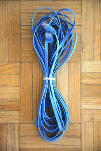 26 Foot Cat 6  Flat Blue Ethernet Cable