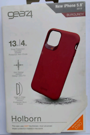 iPhone 11 Pro Case Gear4 Holborn Advanced Impact Protection D3O - Burg