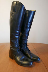 Leather Dressage/English Riding Boots Size 7.5/9.5