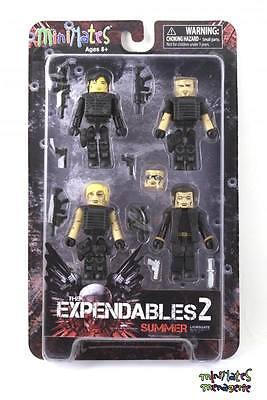 The Expendables 2 Minimates Box Set