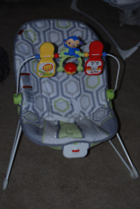 Fisher Price Bouncy Soothing Vibrating Activity Baby Chair