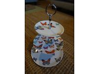 Laura Ashley cake cup cake stand