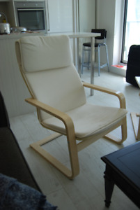 """Ikea """"Pello"""" living room arm chairs for sale - $30ea / $50 both"""