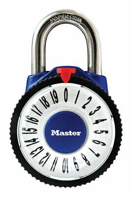 Master Lock 2.125 In. 3-dial Combination Metal Combination Padlock