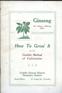 GINSENG: THE MONEY MAKING PLANT: HOW TO GROW IT
