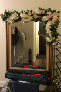 MOVING SALE: Full length LARGE wall mirror , prime condition