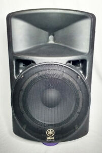 "12"" POWERED PA SPEAKERS - YAMAHA + MACKIE"