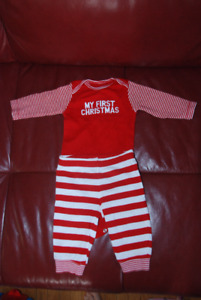 My first christmas outfit / size 0-3months