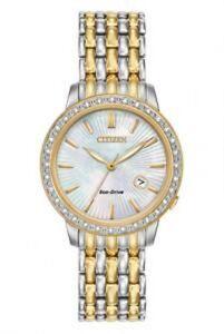 Citizen Women's Classic Ladies' Diamond EW2284-57D Wrist Watches