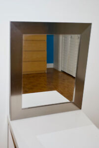 Miroir argent / stainless