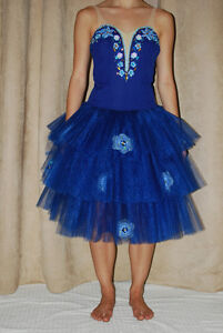 Ballet Tutu - Blue - Professionally Made