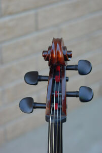 quarter size cello , handmade whole solid wood ,beautiful sound Stratford Kitchener Area image 6