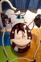 ** Carter Baby motion swing with music and timer 60$ **