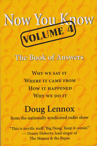 Now You Know Volume 4 : The Book of Answers