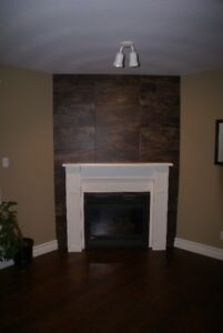 Gas Fireplace Mantle