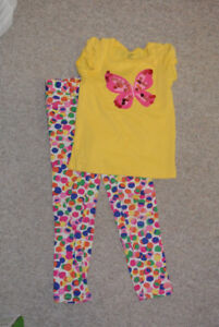 Girls Size 6 Jeggings Outfit Excellent Condition $ 3.00