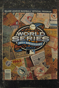 2003 MLB World Series Collectables