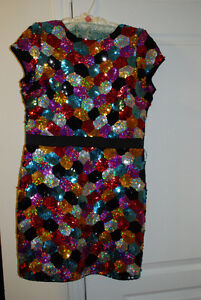 Lipsy Sequined Dress – Size 12