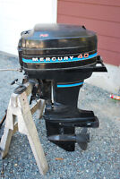 Mercury 40hp 2 stroke and controls