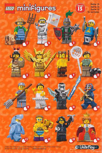 Lego CMF Series 15, brand new in sealed bag