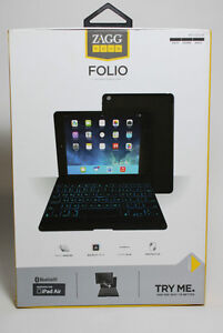 ZAGG Keyboard with Backlit Bluetooth for iPad Air and other