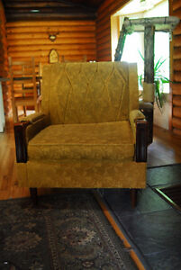 Vintage Couch and Armchair