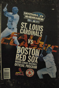 2004 MLB World Series Collectables
