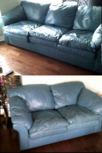 Free Sofa set, includes Queen size pull out bed