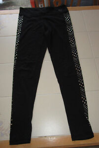 Girls fancy leggings from Aeropostale in size Medium