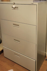 Staples File Cabinet (4 Drawers & 4.5 ft high) - $350