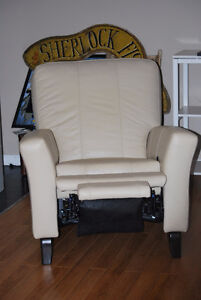 Danier leather rocker/recliner