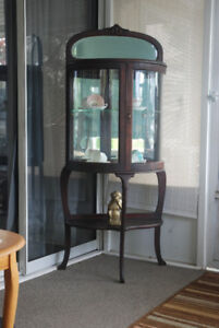 1885 Antique China Cabinet