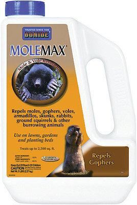 Bonide MoleMax For Moles & Voles Animal Repellent Granules 5 lb