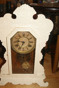 1890S ANTIQUE GINGERBREAD CLOCK BY WATERBURY CLOCK CO West Island Greater Montréal image 4