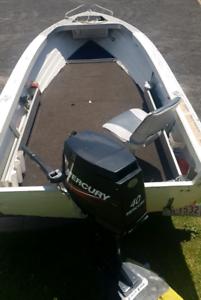Boat aluminum 4.2m