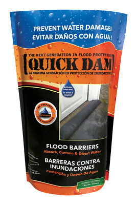 Quick Dam Water Activated  Flood Barrier 5 feet, 1-Pack